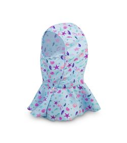 Bufanda-Azul-Claro-Bubblegummers-Barcoiris-Niños