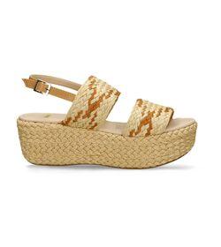 Sandalias-de-plataforma-Beige-Bata-Calossa-Mujer