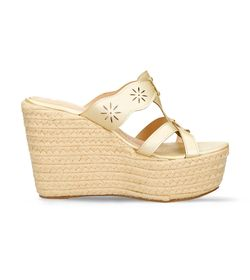 Sandalias-de-plataforma-Dorado-Bata-Closs-Mujer