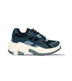 Tenis-deportivos-Azul-Bata-Dania-Mujer