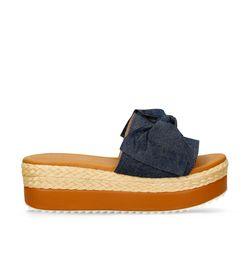 Sandalias-de-plataforma-Azul-Bata-Dixie-Mujer