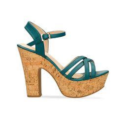 Sandalias-de-tacon-Verde-Bata-Donatella-Mujer