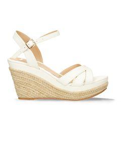 Sandalias-de-plataforma-Blanco-Bata-Estrella-Mujer