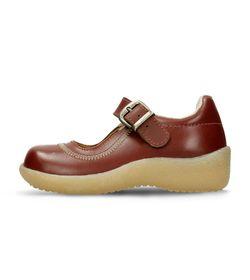 Zapatillas-escolares-Rojo-Oscuro-Bubblegummers-Genova-Escolar