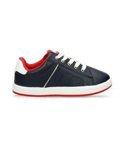 Zapatos-casuales-Azul-Bubblegummers-Kristof-Niños
