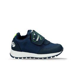 Zapatos-casuales-Azul-Bubblegummers-Landers-Niños