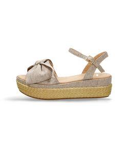 Sandalias-de-plataforma-Beige-Bata-Xeci-Mujer