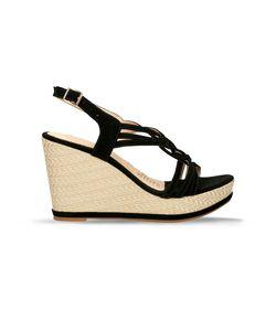 Sandalias-de-plataforma-Negro-Bata-Faith-Mujer