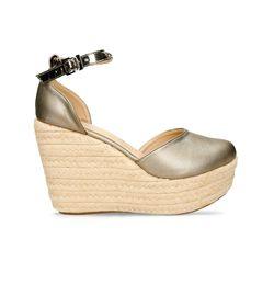 Sandalias-de-plataforma-Gris-Bata-Fila-Mujer