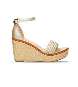 Sandalias-De-Plataforma-Dorado-Bata-Yismel-R-Mujer