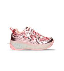 Zapatos-Casuales-Rosado-Bubblegummers-Loredana-Niños