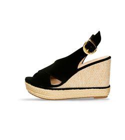 Sandalias-de-plataforma-Negro-Bata-Glira-Mujer