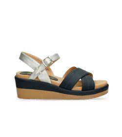 Sandalias-de-plataforma-Plateado-Bata-Xelant-R-Mujer