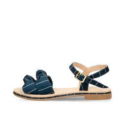Sandalias-Azul-Bata-Zulmita-Textil-Mujer