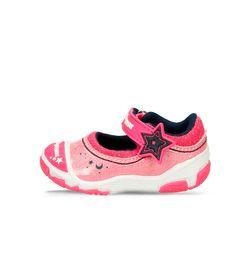 Zapatos-Casuales-Rosado-Bubblegummers-Kendra-Niños
