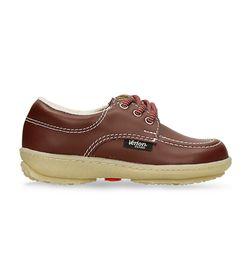 Zapatillas-Escolares-Rojo-Oscuro-Verlon-Diana-Gold-Escolar