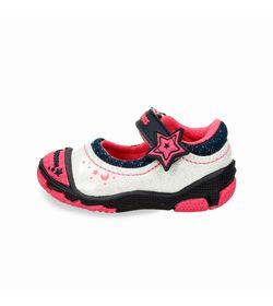 Zapatos-Casuales-Blanco-Bubblegummers-Kendra-Niños