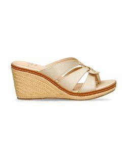 Sandalias-de-plataforma-Dorado-Bata-Hasam-Mujer