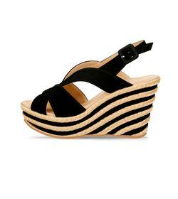 Sandalias-de-plataforma-Negro-Bata-Hasum-Mujer