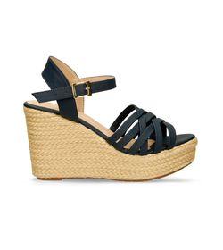 Sandalias-de-plataforma-Azul-Bata-Heln-Mujer