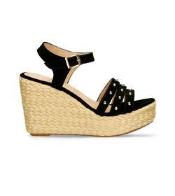 Sandalias-de-plataforma-Negro-Bata-Hastind-Mujer