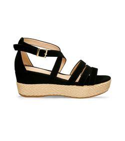 Sandalias-de-plataforma-Negro-Bata-Hawi-Mujer