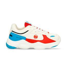 Zapatos-Casuales-Blanco-Rojo-Bubblegummers-Meir-Niño