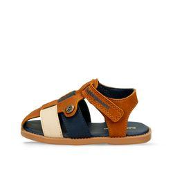 Sandalias--Camel-Azul-Bubblegummers-Malco-Niño