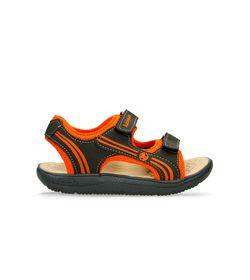 Sandalias--Gris-Naranja-Bubblegummers-Mall-Niño