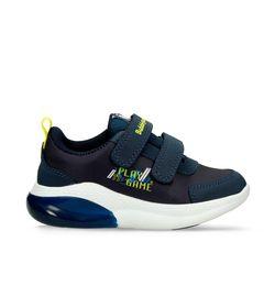 Zapatos-Casuales-Azul-Amarillo-Bubblegummers-Mathy-Niño