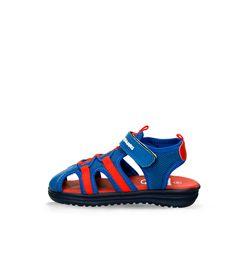 Sandalias-Azul-Rojo-Bubblegummers-Neptuno-Niño