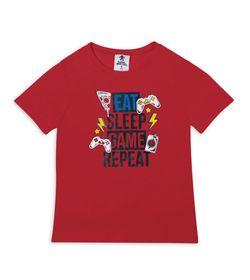 Camiseta-Rojo-Bubblegummers-Davey-Niño