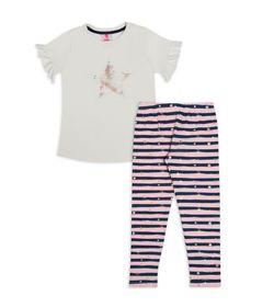 Conjunto-Camiseta-Y-Leggins-Blanco-Azul-Bubblegummers-Daisy-Niña