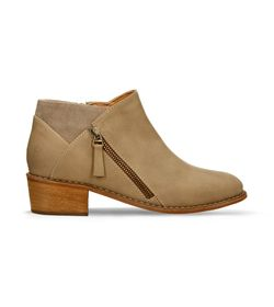 Botines-Beige-Bata-Jina-Boot-Mujer