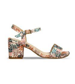 Sandalias-Camel-Azul-Flores-Bata-Jex-Mujer