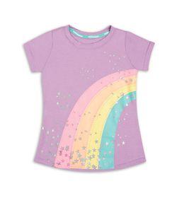 Camiseta-Lila-Bubblegummers-Estela-Niña