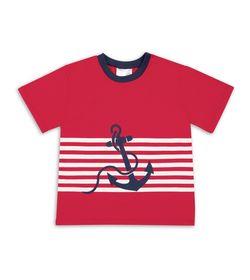 Camiseta-Rojo-Blanco-Bubblegummers-Edward-Niño